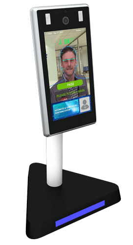 Image of countertop PASS face scanning device