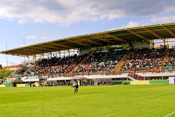 Image of local soccer stadium